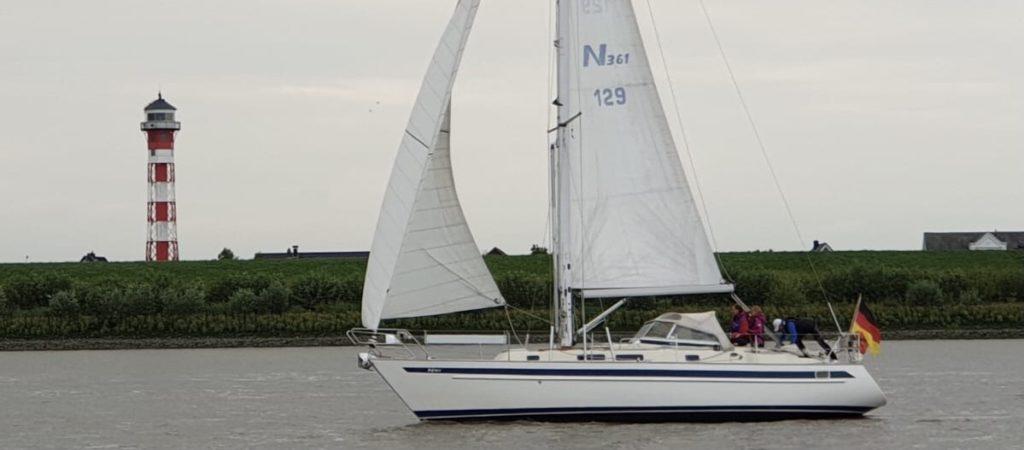 Seemannschaft lernen auf der Segelyacht Carina